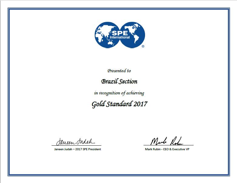 Premio Gold Standard 2017