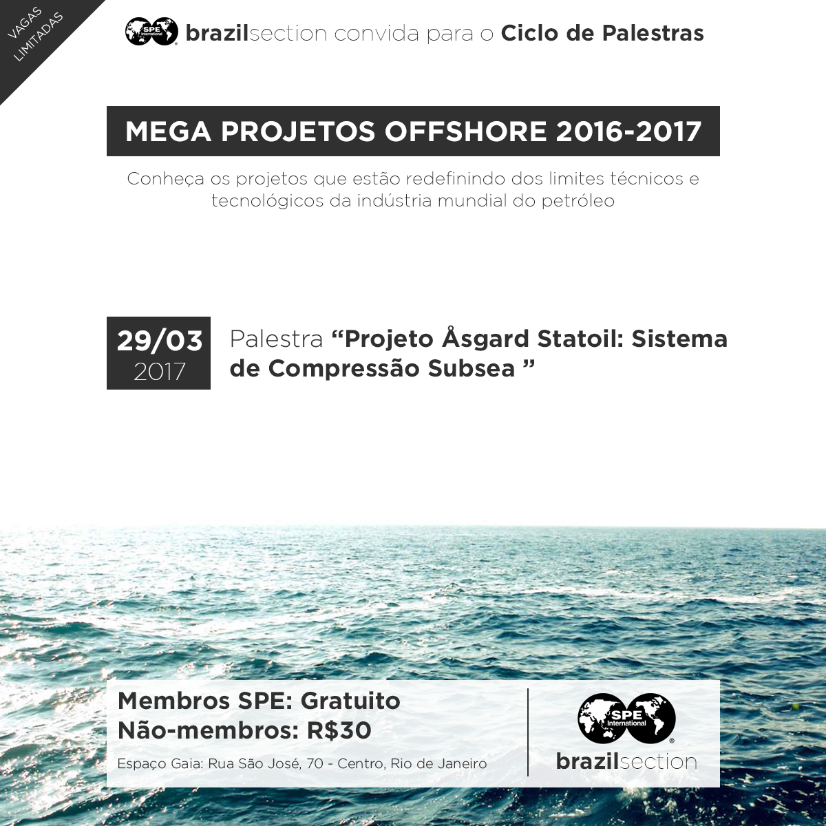 Ciclo Mega Projetos Offshore 2016-2017