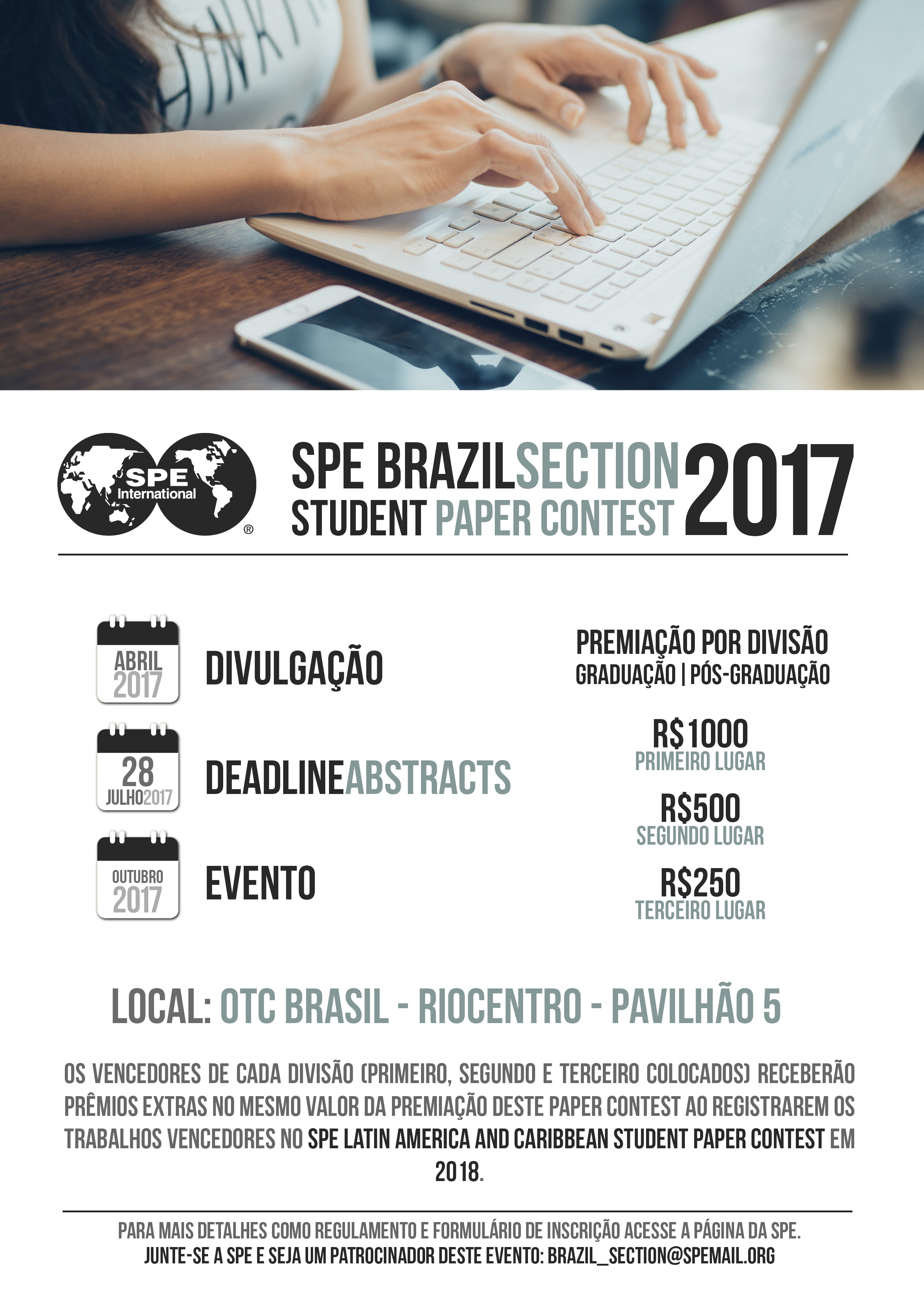 SPE BRAZIL SECTION STUDENT PAPER CONTEST 2017