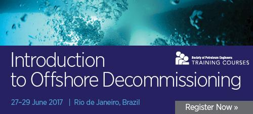 Curso: Introdução ao Descomissionamento Offshore.