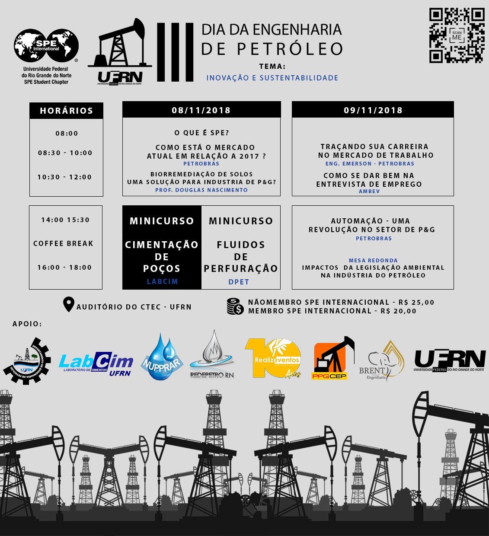 III Dia da Engenharia de Petróleo da UFRN
