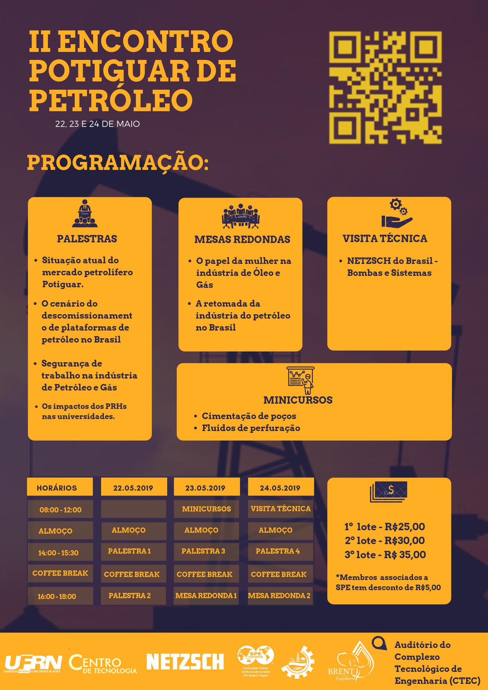 II ENCONTRO POTIGUAR DE PETRÓLEO