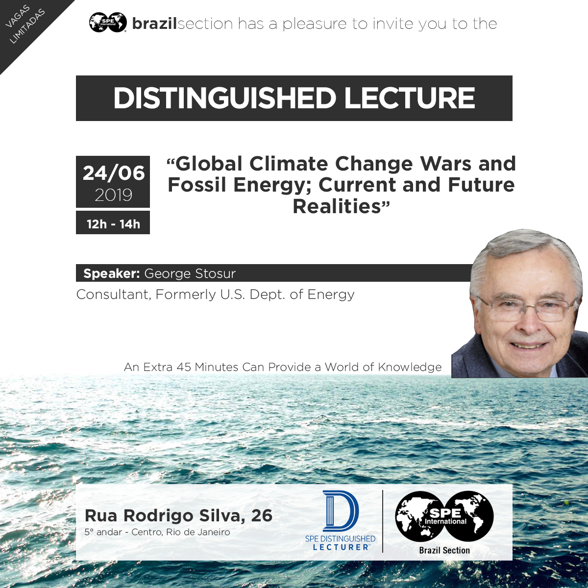 Distinguished Lecturer: Global Climate Change Wars and Fossil Energy; Current and Future Realities