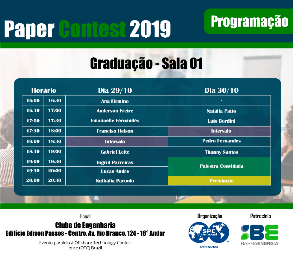 STUDENT PAPER CONTEST 2019
