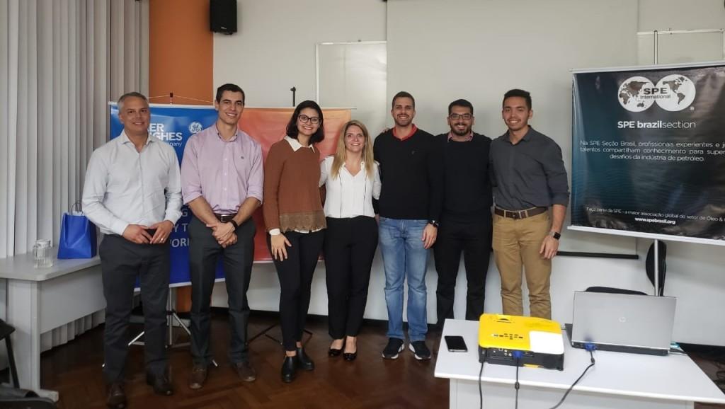 Da esq para direita: Deli Lopes, Anderson da Nova, Luziane Dornelas, Roberta Pires, Celso Dresjan, Victor Couto, Max Tocantins.