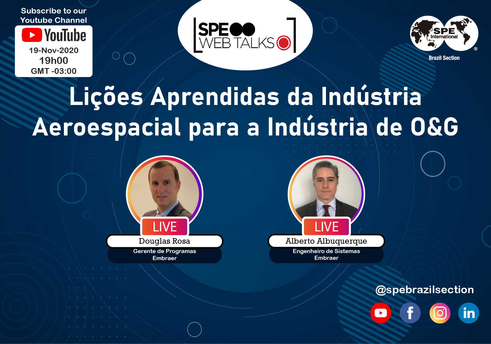 SPE Web Talks LIVE – #14