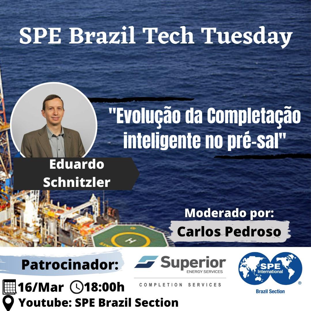 SPE Brazil Tech Tuesday – 16 de março