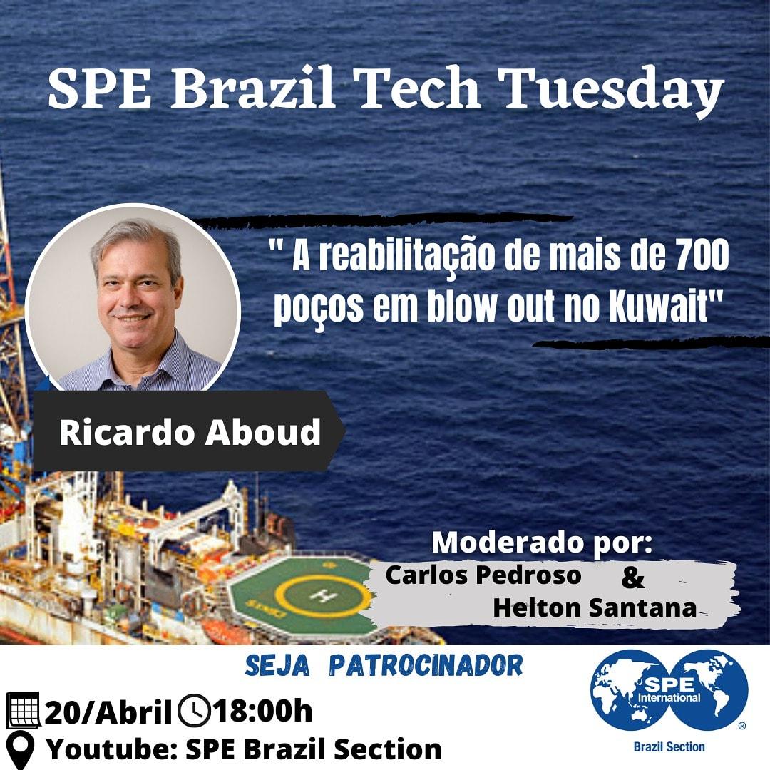 SPE Brazil Tech Tuesday – 20 de abril
