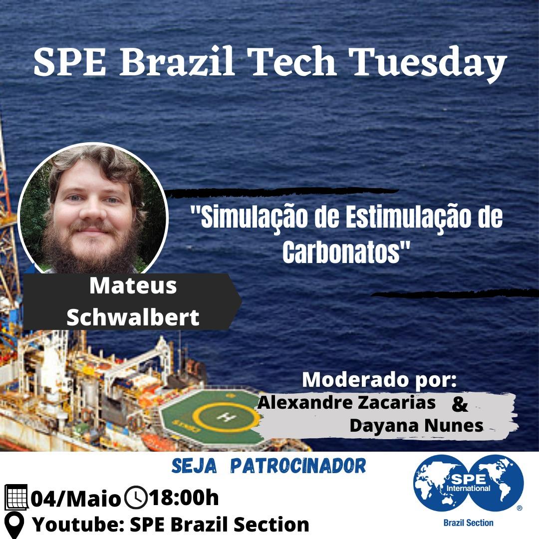 SPE Brazil Tech Tuesday – 04 de maio