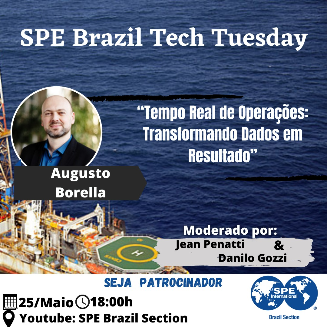 SPE Brazil Tech Tuesday – 25 de maio