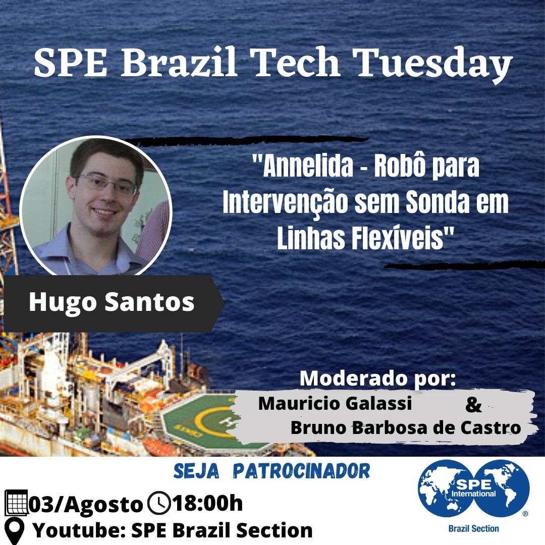 SPE Brazil Tech Tuesday – 03 de agosto