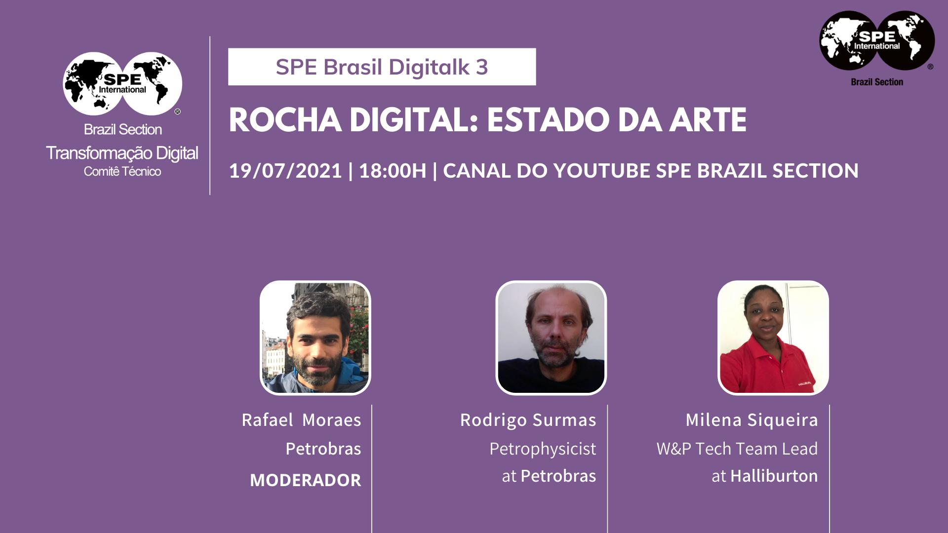 "SPE Brasil DigiTalk 03: ""Rocha Digital: estado da arte"""