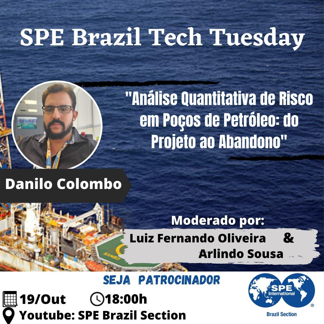 SPE Brazil Tech Tuesday – 19 de outubro