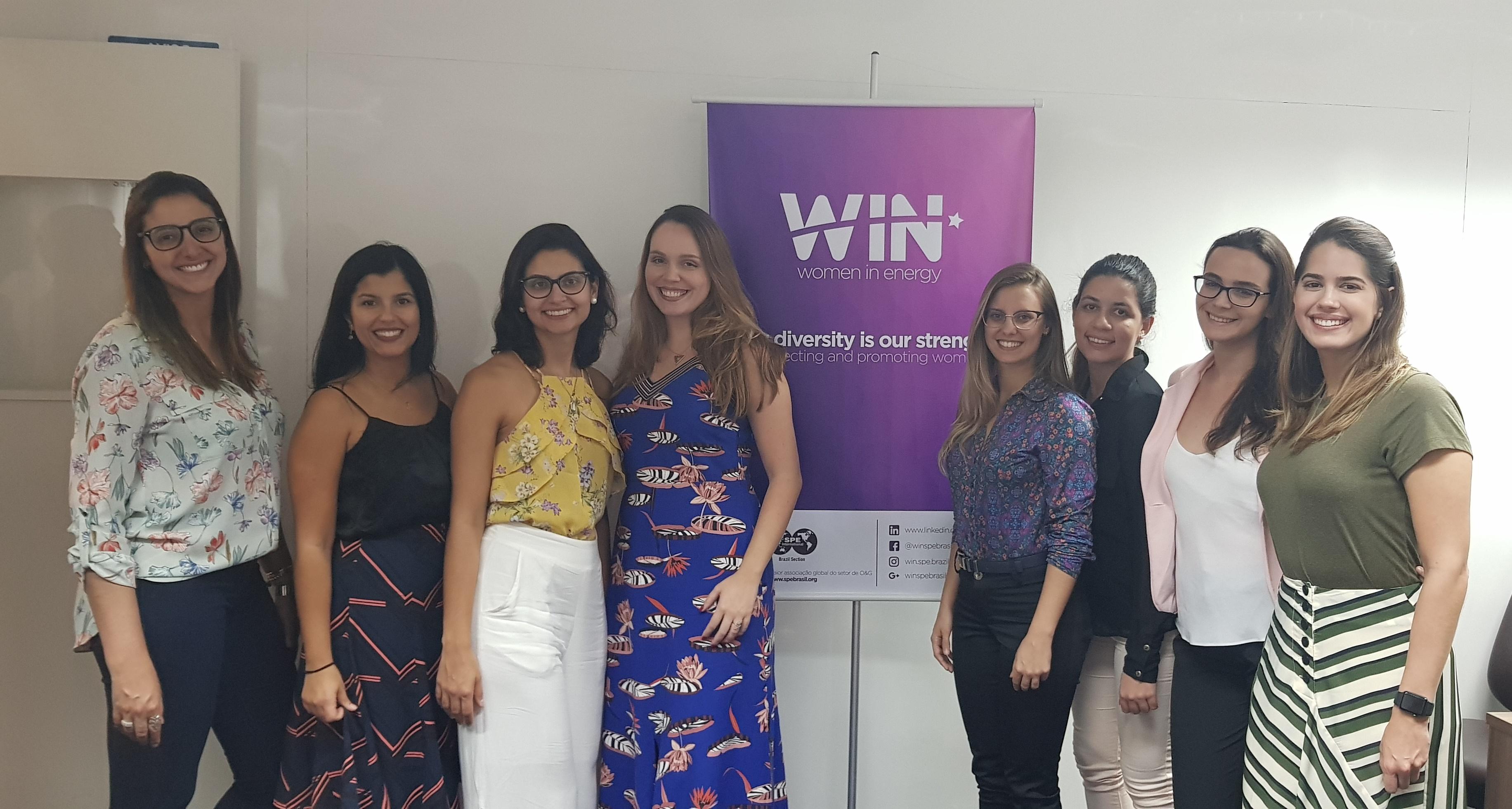 """Realizado: Women in Energy (WIN) – """"Trajetória de Carreira: Até o topo!"""""""
