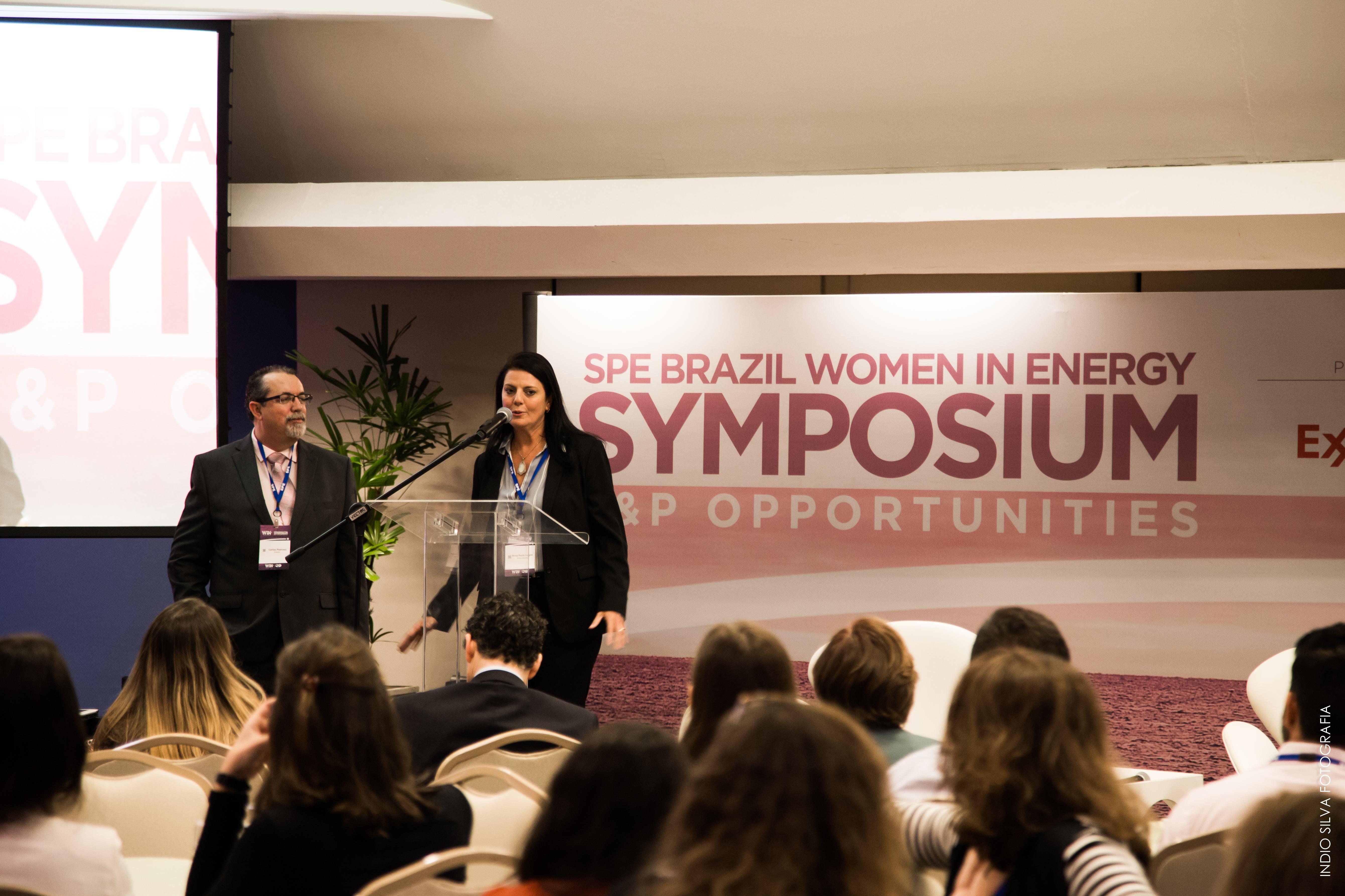 "Realizado: SPE Brazil Women In Energy Symposium: ""E&P Opportunities""."