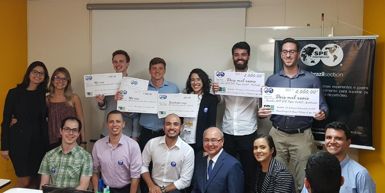 Realizado: SPE Brazil Student Paper Contest 2019