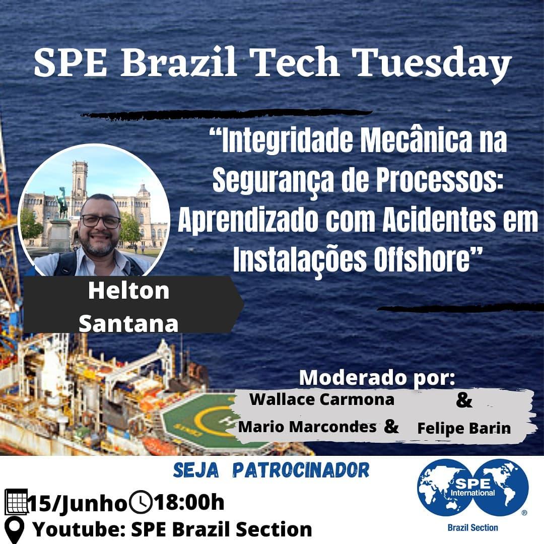 SPE Brazil Tech Tuesday – 15 de junho