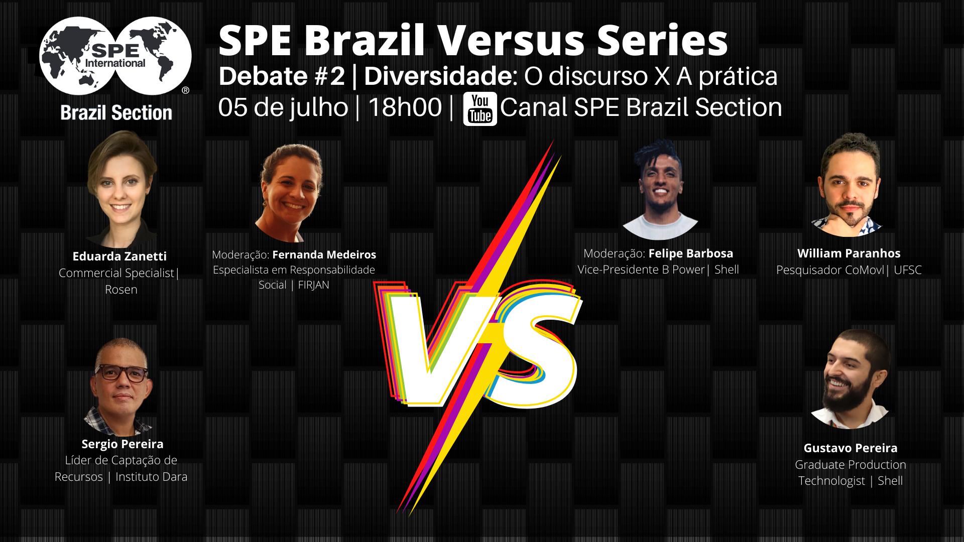 SPE Brazil Versus #02 – Diversidade: Discurso x Prática