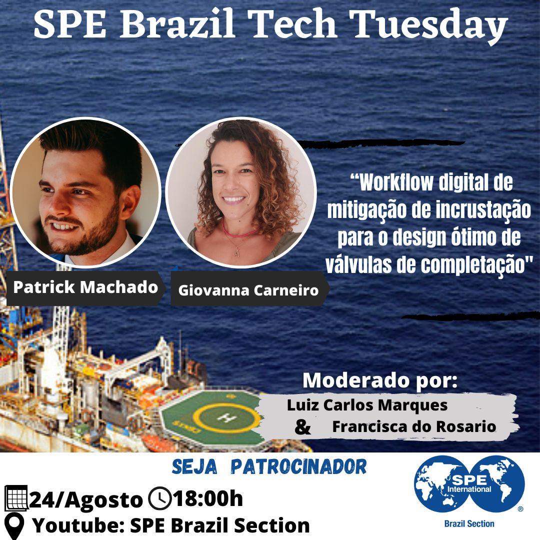 SPE Brazil Tech Tuesday – 24 de agosto
