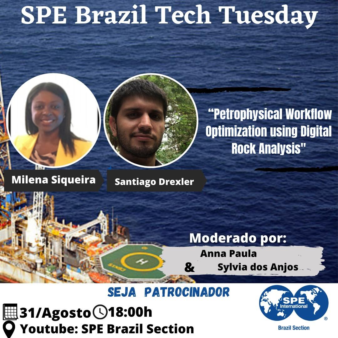 SPE Brazil Tech Tuesday – 31 de agosto
