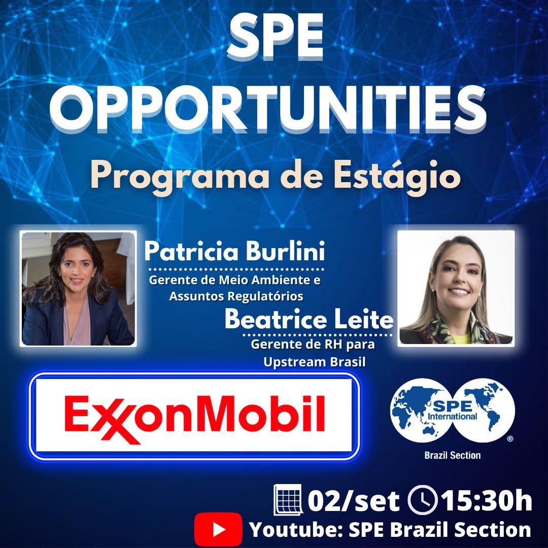 SPE Opportunities – Programa de Estagio ExxonMobil